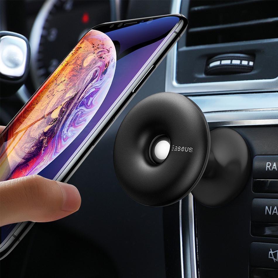 Baseus Star Ring Magnetic Pedestal Dashboard Car Mount Holder